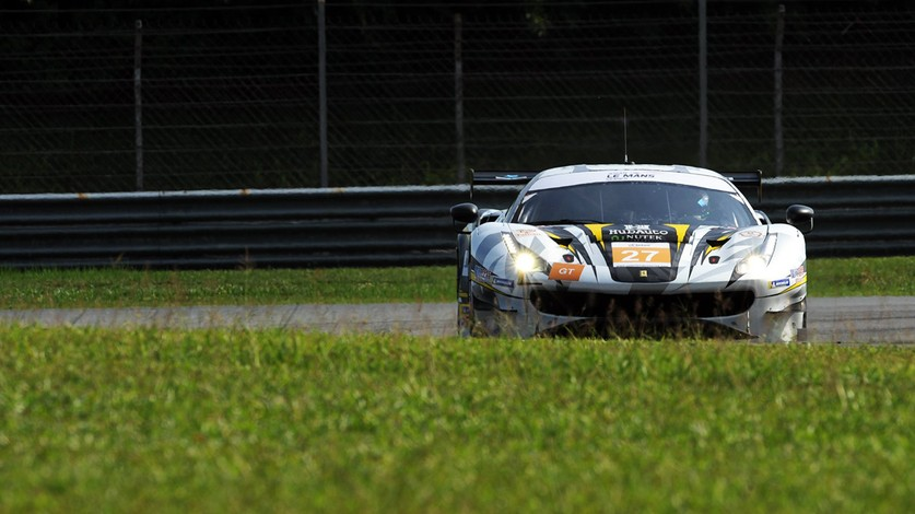 ALMS - Final deception for HubAuto Corsa at Sepang