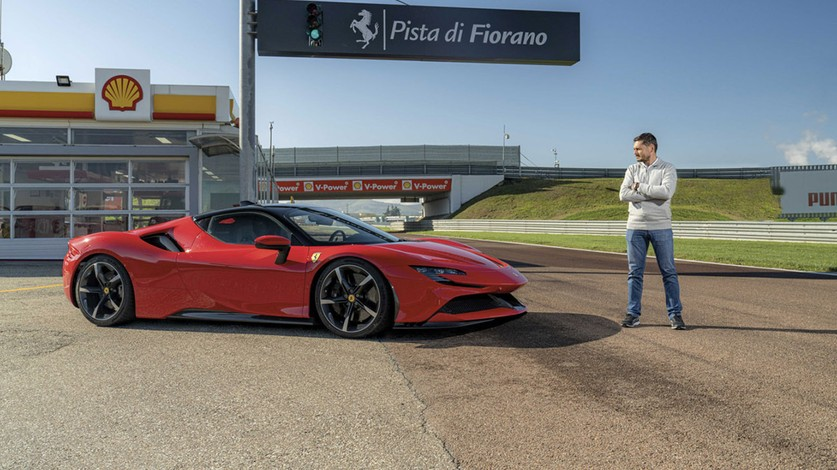 The SF90 Stradale taken to the limit