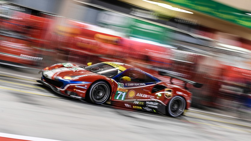 Ferrari in hunt for victory at COTA