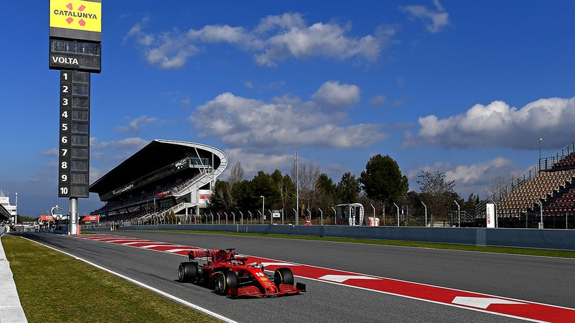 Barcelona Test 1 - Day 1: Two race distances for Charles and the SF1000