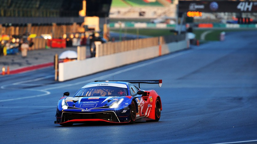 Four Ferraris chasing title in final act of ALMS