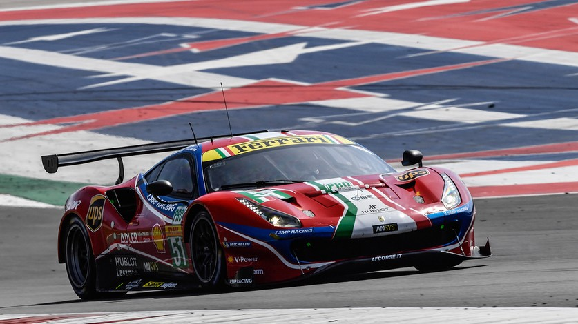 WEC - Second row for Ferrari at COTA