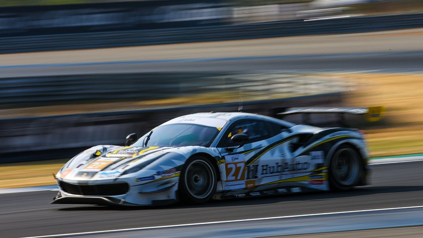 Ferrari hogs podium as HubAuto Corsa clinches ALMS title