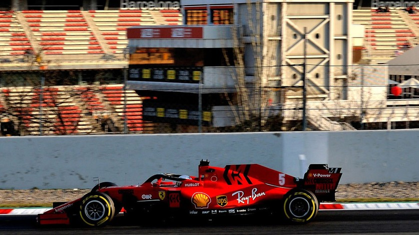 Test 2: Both drivers in the SF1000 on Wednesday