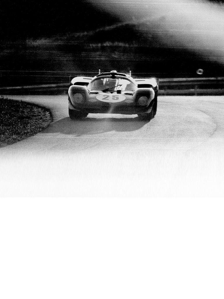 The Ferrari 512 S mounted an all-alloy V12 of almost five litres with four valves per cylinder.