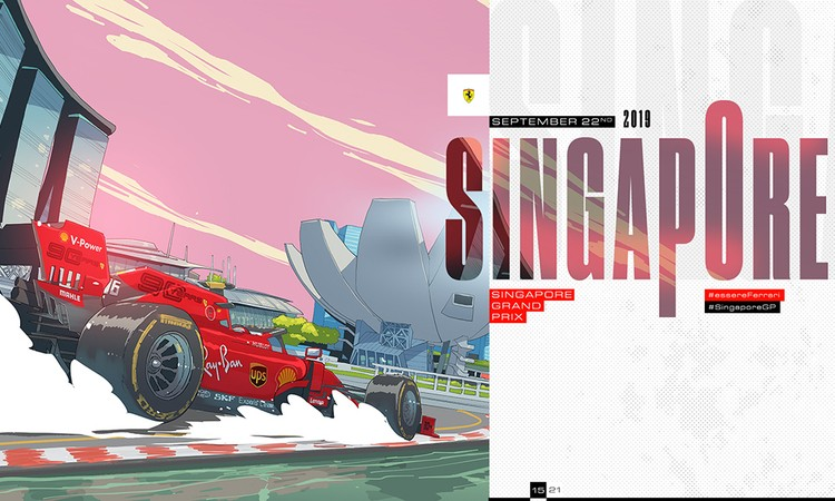 Singapore Grand Prix by Giacomo Bevilacqua