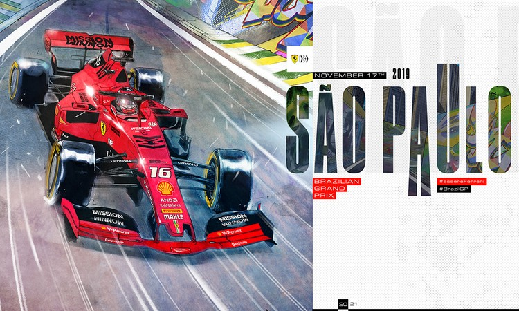 Brazilian Grand Prix by Giuseppe Camuncoli