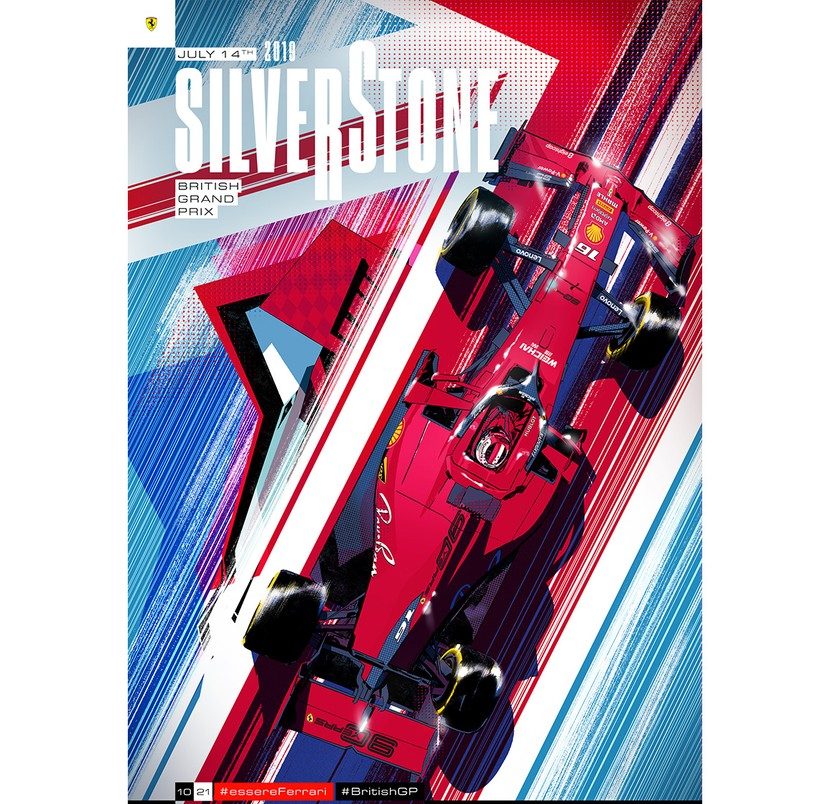 Silverstone 2019 - Cover Art by Gianmarco Veronesi