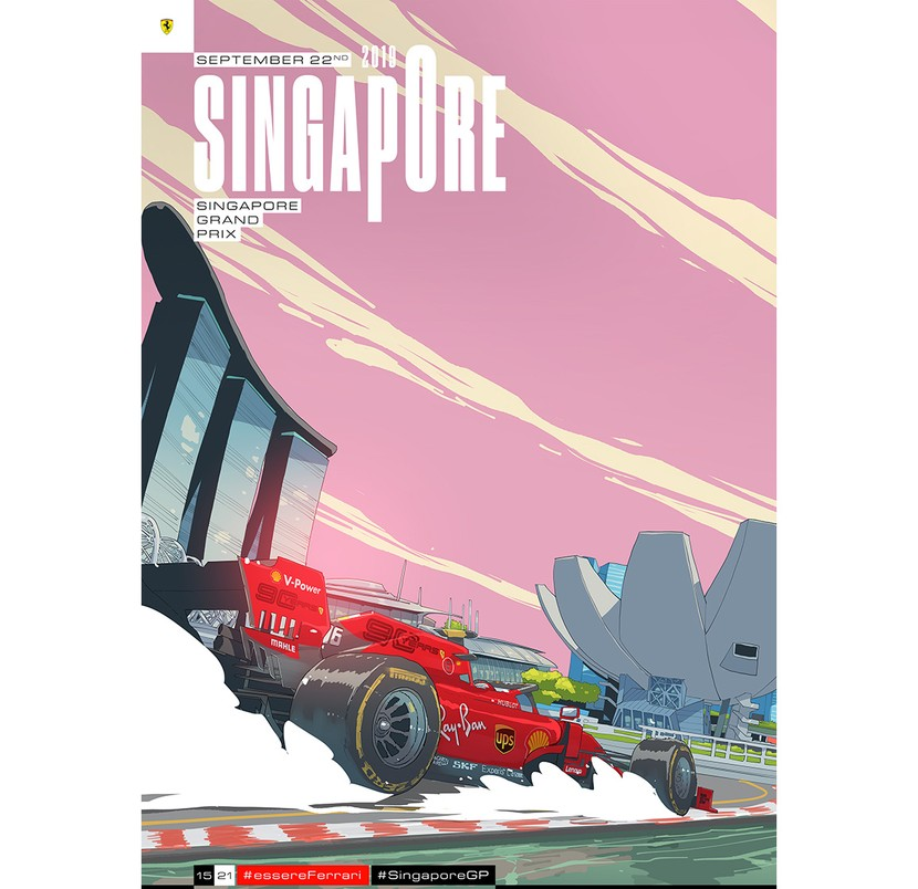 Cover art by Giacomo Bevilacqua - Singapore 2019