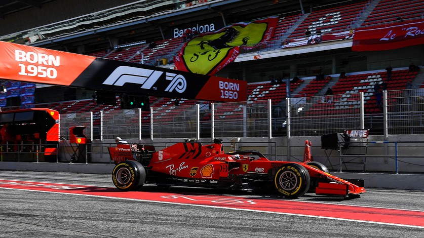 Barcelona Test 2 - Day 2: Sebastian completes a race weekend simulation