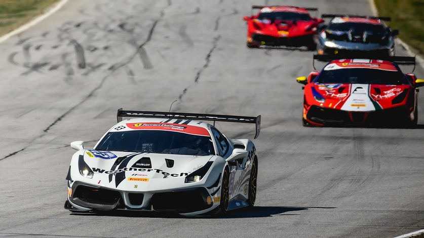 Challenge NA - MacNeil and Quattlebaum on pole in Race 2 at Road Atlanta