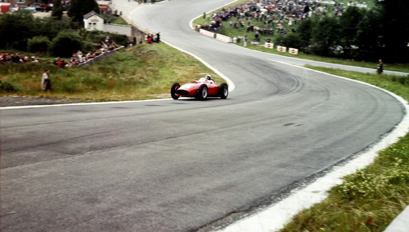 FERRARI LAST FRONT-ENGINED F1 VICTORY