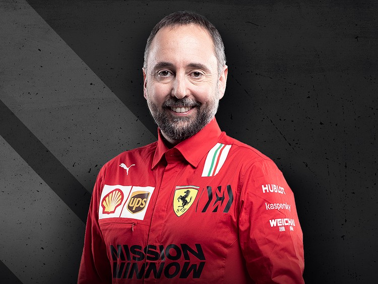 Enrico Cardile - Head of Ferrari Aerodynamics and Vehicle Project Management Department