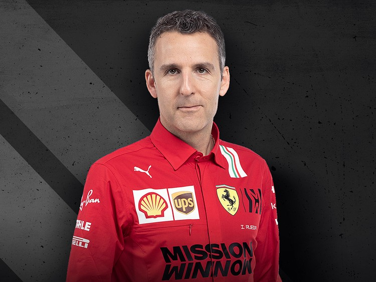 Iñaki Rueda - Head of Ferrari Race Strategy