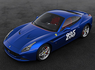Ferrari California T - INSPIRED BY THE 250 Europa Vignale coupé