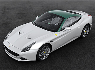 Ferrari California T - INSPIRED BY THE 375 MM Pinin Farina berlinetta