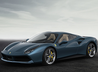 Ferrari 488 GTB - INSPIRED BY THE 195 S Touring berlinetta