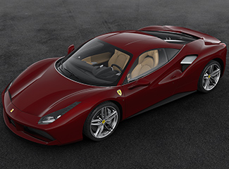 Ferrari 488 GTB - INSPIRED BY THE 212  Inter Vignale cabriolet