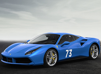 Ferrari 488 GTB - INSPIRED BY THE 250 GT Berlinetta Scaglietti