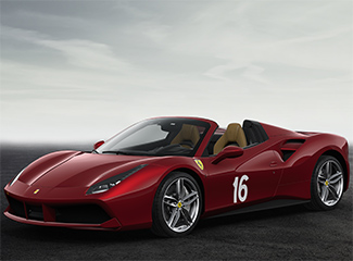 Ferrari 488 Spider - INSPIRED BY 340 America barchetta