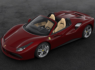 Ferrari 488 Spider - INSPIRED BY 212  Inter Vignale cabriolet
