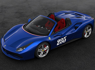 Ferrari 488 Spider - INSPIRED BY 500 Mondial