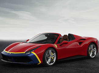 Ferrari 488 Spider - INSPIRED BY THE 290 MM