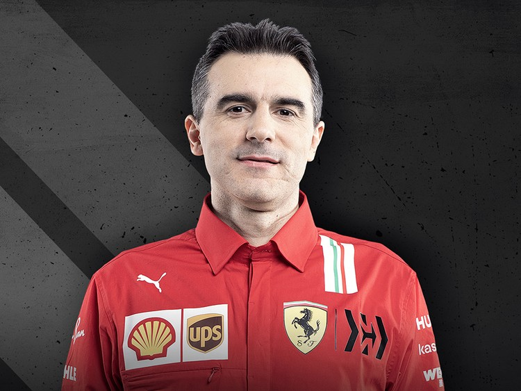 Enrico Gualtieri:  Head of Scuderia Ferrari Power Unit Area