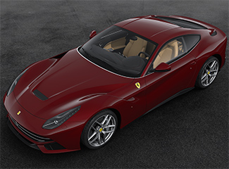 Ferrari F12berlinetta - INSPIRED BY THE 212  Inter Vignale cabriolet