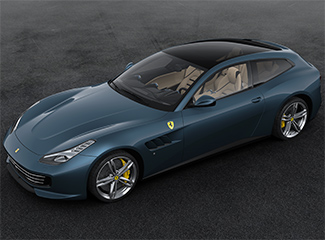 Ferrari GTC4Lusso - Inspired by the 195 S