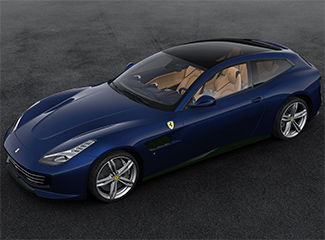 Ferrari GTC4Lusso - Inspired by the 166 MM