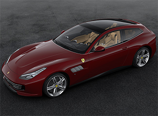 Ferrari GTC4Lusso - Inspired by the 212 Inter Vignale cabriolet