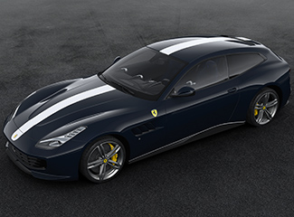 Ferrari GTC4Lusso - Inspired by the 340 MM Vignale spider