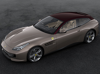 Ferrari GTC4Lusso - Inspired by the 250 Europa