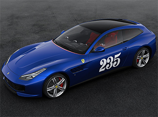 Ferrari GTC4Lusso - Inspired by the 500 Mondial