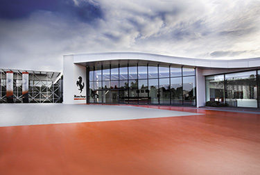 The Ferrari museums open their doors to the public today, in line with Italian government regulations.
