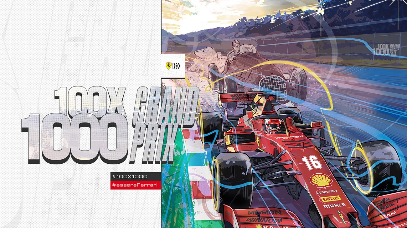 Celebrating Scuderia Ferrari's journey to its 1000th Grand Prix
