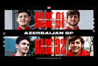 Virtual Azerbaijan GP 2020 - Ferrari FDA Hublot Team