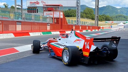Petecof, Leclerc and Beganovic took part in their first official test of 2020 at the Mugello circuit.