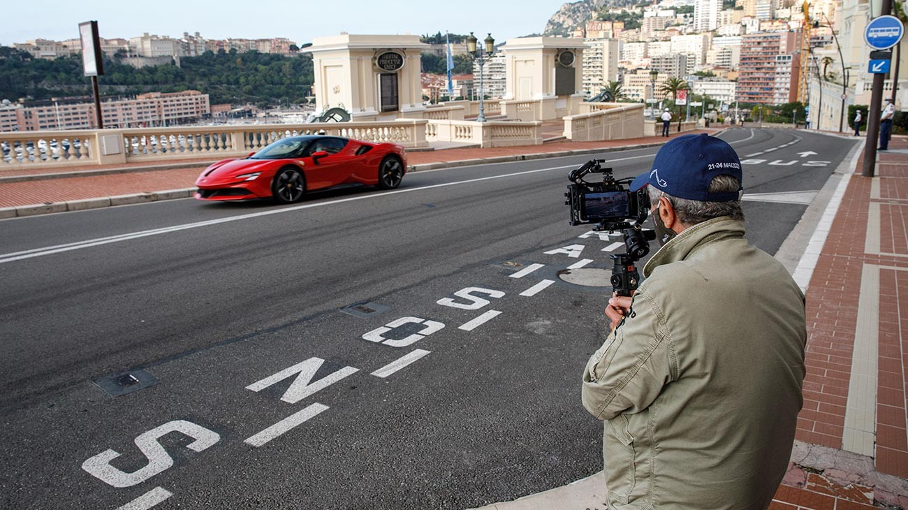 A film by Claude Lelouch, starring Charles Leclerc and a Ferrari SF90 Stradale