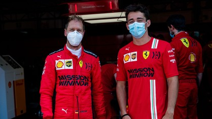 Sebastian Vettel and Charles Leclerc were back in action for Scuderia Ferrari Mission Winnow during a test day using the 2018 car at the Mugello circuit.
