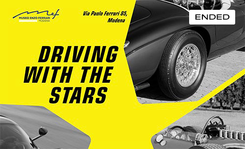 Musei Ferrari - Driving with the Stars @MEF