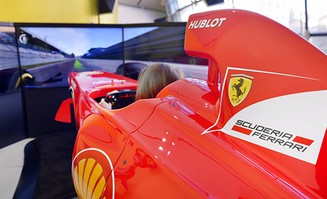 Ferrari F1 Drivin Simulators at Museums