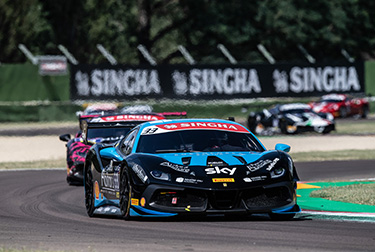 Ferrari Challenge Europe - Tabacchi and Kirchmayr clean up at Imola