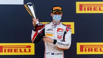 The second race of the second Spielberg weekend saw the New Zealand FDA student finish third.