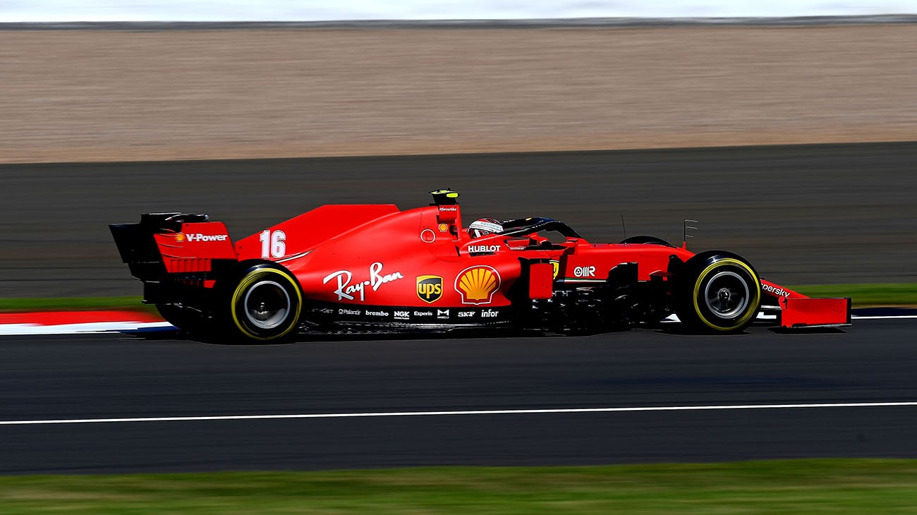 British Grand Prix Qualifying Second Row For Charles Fifth For Seb