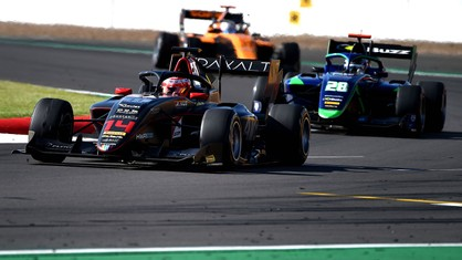 The fourth round of the FIA Formula 3 championship came to an end today at Silverstone.