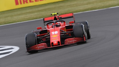 Charles Leclerc took his and Scuderia Ferrari's second podium finish, coming home third.
