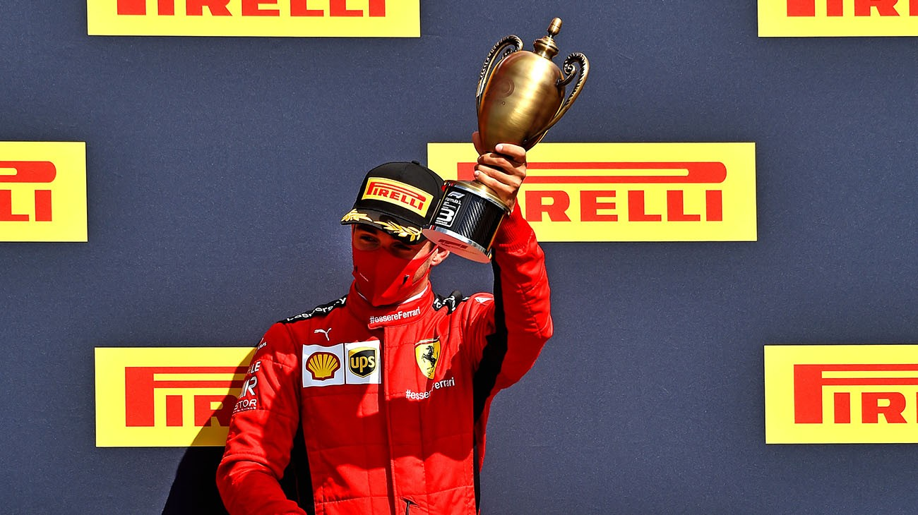 Charles Leclerc took his and Scuderia Ferrari's second podium finish of the season, coming home third. The British Grand Prix had few exciting moments at first, but really came to life on the 50th of 52 laps when a series of tyre failures jumbled up the order.