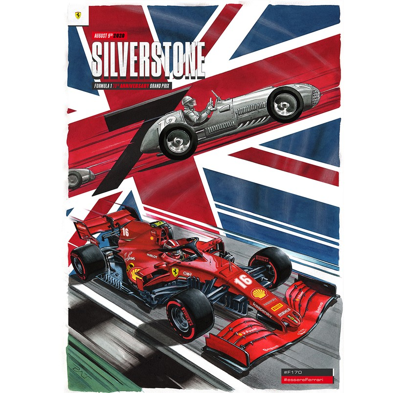 Formula 1 reaches an extraordinary landmark celebrating the 70th anniversary of the first official Grand Prix, and Silverstone is just the right track to host this very important date. We are proud of being here since the very beginning.